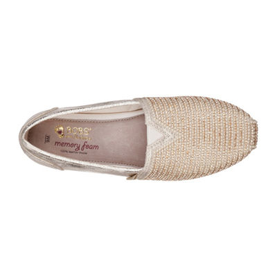 Skechers Luxe Bobs Womens Slip-On Shoes