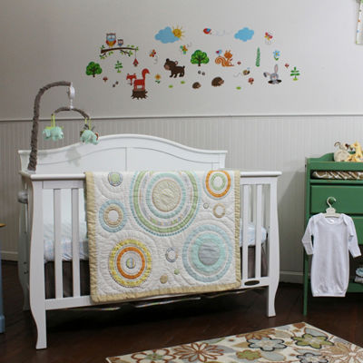 Nurture Cosmo Dots Hand Quilted Baby Quilt
