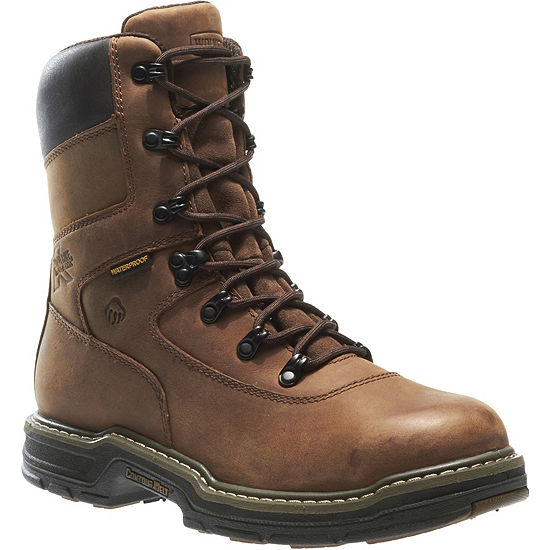 Wolverine Mens Buccaneer Waterproof Slip Resistant Insulated Work Boots