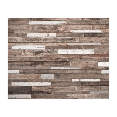 Brewster Wall Wooden Planks Wall Mural Wall Decal