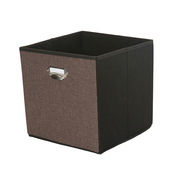 Kennedy International Storage Cube W/ Name Plate Storage Box