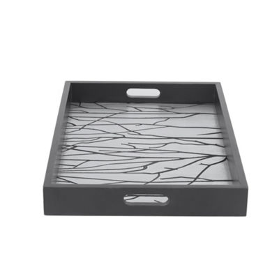 Madison Park Signature Forest Wood Tray