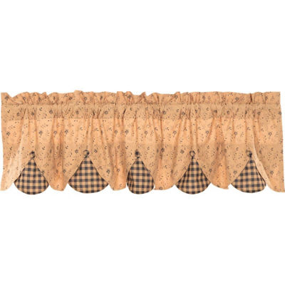 Primitive Window Maisie Lined Valance