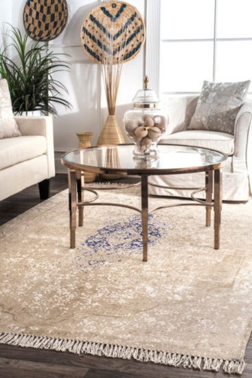 nuLoom Theresa Fringe Cotton Flatweave Area Rug