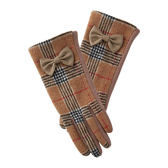 Tickled Pink Plaid Plaid Cold Weather Gloves