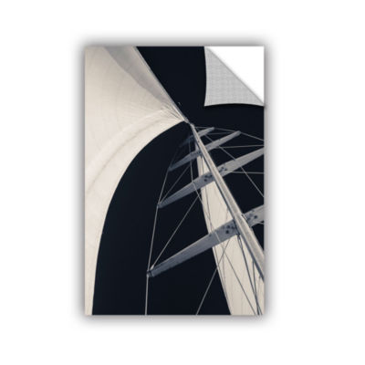 Obsession Sails 005 BW Removable Wall Decal