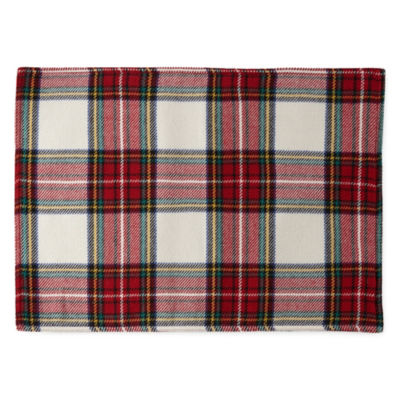 North Pole Trading Co. Tartan Plaid 4-pc. Placemat