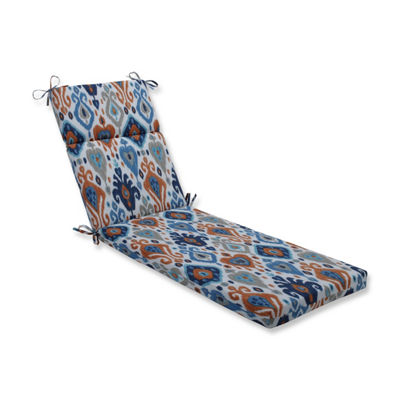 Pillow Perfect Paso Azure Patio Chaise Lounge Cushion