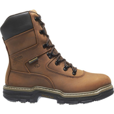 Wolverine Mens Marauder Work Boots Waterproof Slip Resistant Insulated Lace-up