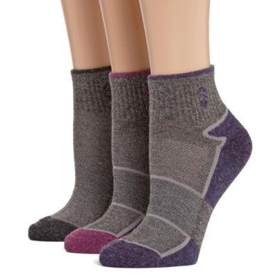 Free Country 3 Pair Quarter Socks - Womens