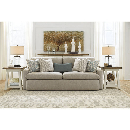Signature Design By Ashley® Melilla Sofa, Color: Ash