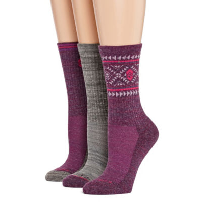 Free Country 3 Pair Crew Socks - Womens