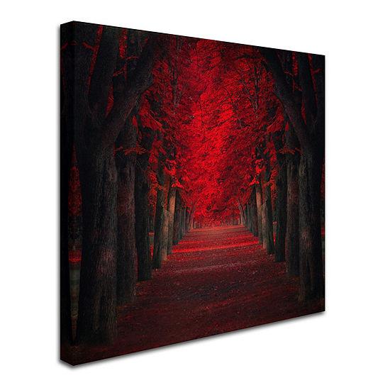 Trademark Fine Art Ildiko Neer Endless Passion Giclee Canvas Art