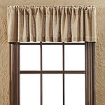 Farmhouse Window Burlap Natural Valance