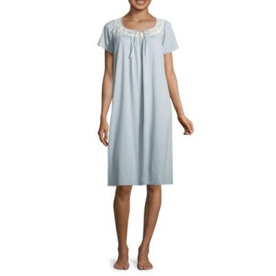 Adonna Knit Short Sleeve Nightgown