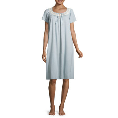 Adonna Knit Short Sleeve Nightgown