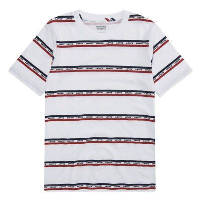 Levi's Boys Crew Neck Short Sleeve Graphic T-Shirt