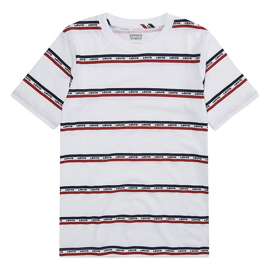470e612f Levi's Boys Crew Neck Short Sleeve Graphic T-Shirt - JCPenney