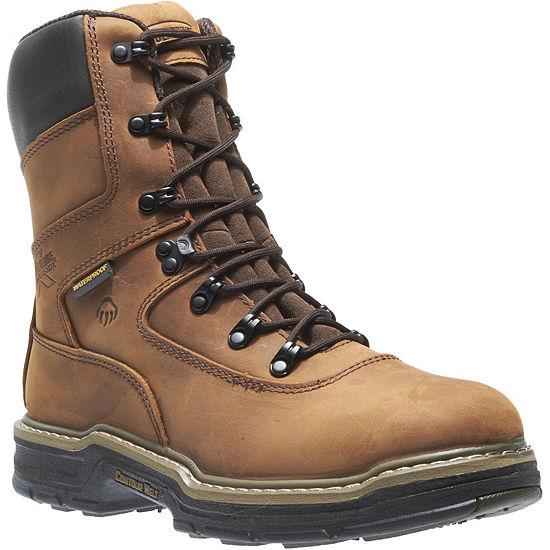 Wolverine Mens Marauder Waterproof Slip Resistant Insulated Work Boots