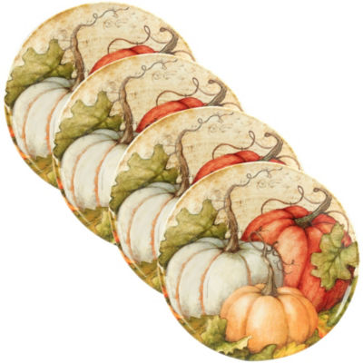 Certified International Autumn Fields 4-pc. Salad Plate
