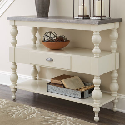 Signature Design by Ashley Fossil Ridge 1-Drawer Console Table