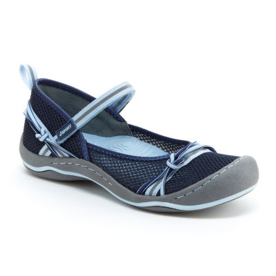 J Sport By Jambu Misty Encore Womens Mary Jane Shoes Hook and Loop Closed Toe