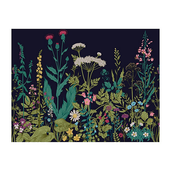 Brewster Wall Botanical Fleur and  Mural Wall Decal