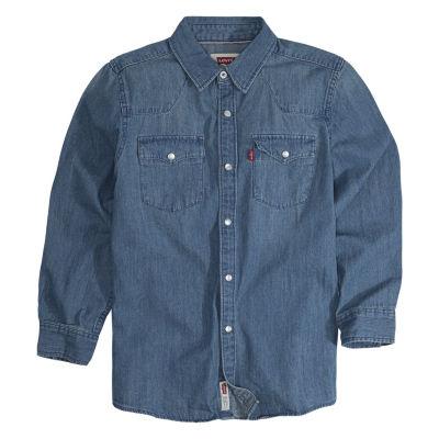 Levi's Boys Long Sleeve Western Shirt