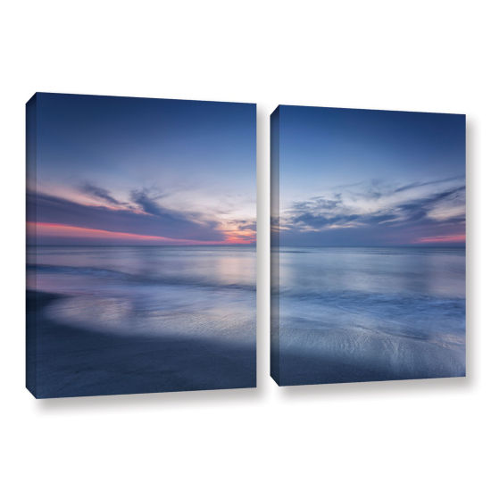 Brushstone Atlantic Sunrise No.7 2-Piece Set Gallery Wrapped Canvas