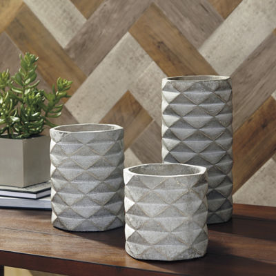 Signature Design By Ashley® Set of 3 Charlot Vases