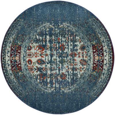 Safavieh Monaco Collection Aiden Oriental Round Area Rug