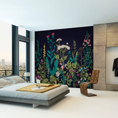 Brewster Wall Botanical Fleur Wall Mural Wall Decal