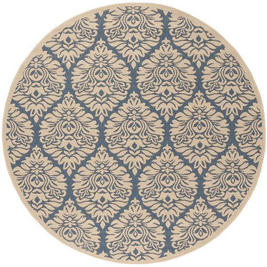 Safavieh Linden Collection Nikola Geometric RoundArea Rug