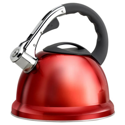 Epicurious 2.85-Qt. Stainless Steel Teakettle Tea Kettle Epiu8665ec