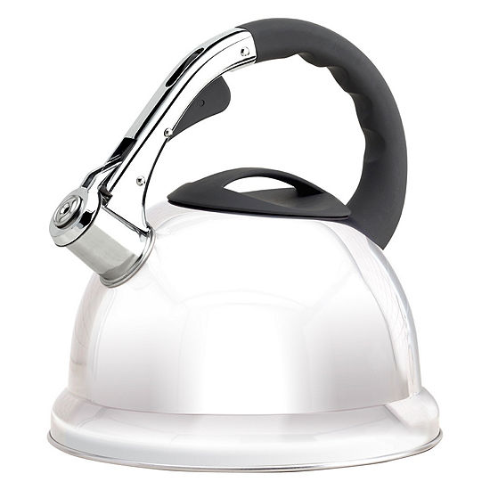 Epicurious 2.85-Qt. Stainless Steel Teakettle Tea Kettle Epiu8668ec