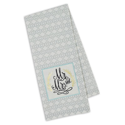 Happily Ever After Embellished Dishtowel Set - Set of 4