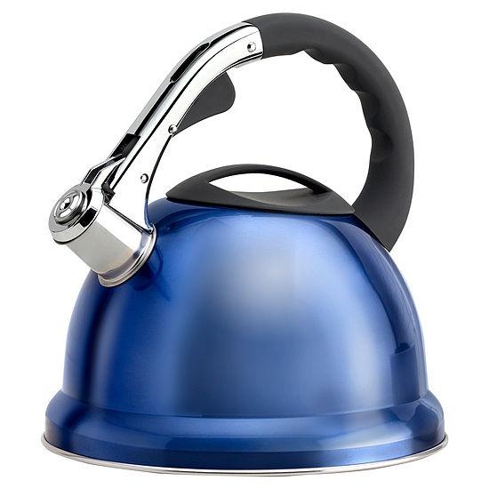 Epicurious 2.85-Qt. Stainless Steel Teakettle Tea Kettle Epiu8666ec