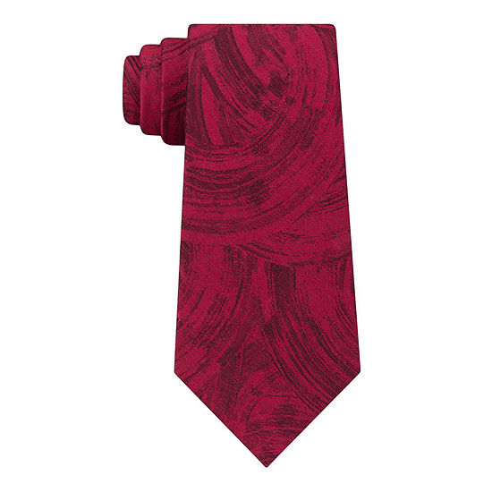 Van Heusen Narrow Chrome Abstract Tie