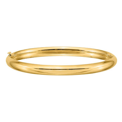 Girls 14K Gold Bangle Bracelet