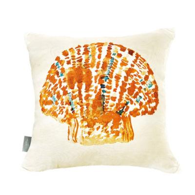 Sara B Seashell Square Pillow