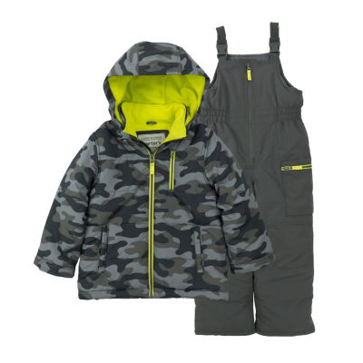 Carter's Midweight Camouflage Snow Suit-Toddler Boys
