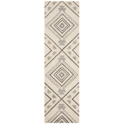 Safavieh Casablanca Collection Hyram Geometric Runner Rug