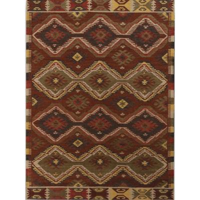 Amer Rugs Makamani AA3 Flat-Weave Wool Rug