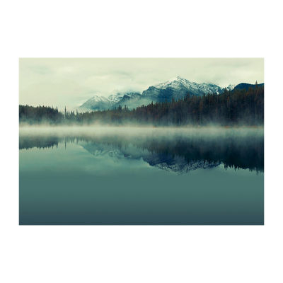 Brewster Wall Cloudy Peaks Mural 6-pc. Wall Decals