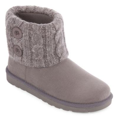 Arizona Womens Sherri Flat Heel Pull-on Winter Boots
