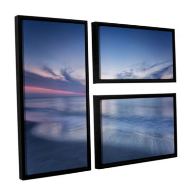 Atlantic Sunrise No.7 3-pc Floater-Framed GalleryWrapped Canvas Flag Set