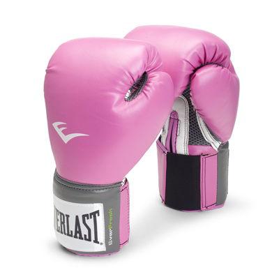Everlast Pro Style Womens 12 Oz Training Gloves Pink