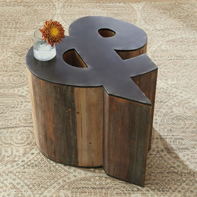 Signature Design by Ashley® Highmender Ampersand Shaped Accent Table