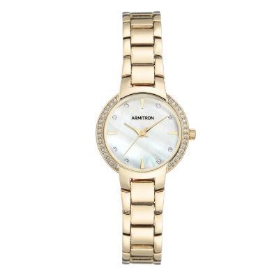 Armitron Unisex Gold Tone Bracelet Watch-75/5587mpgp