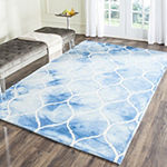 Safavieh Dip Dye Collection Nick Geometric Square Area Rug
